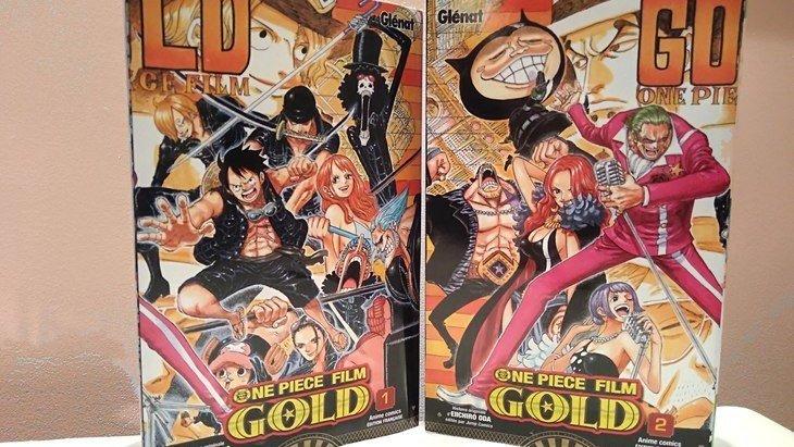 One Piece Gold : après le film, l'anime comics en 2 tomes