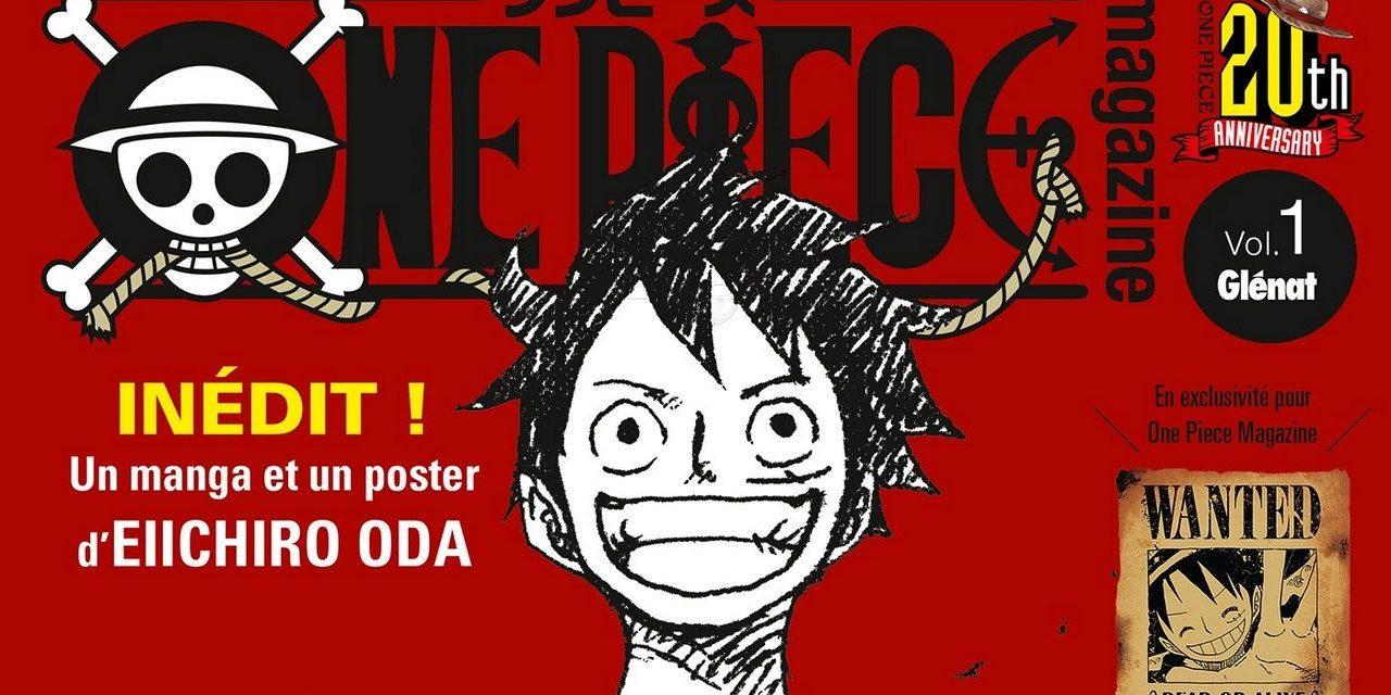 One Piece Magazine est sorti ! Bien plus qu'un simple magazine