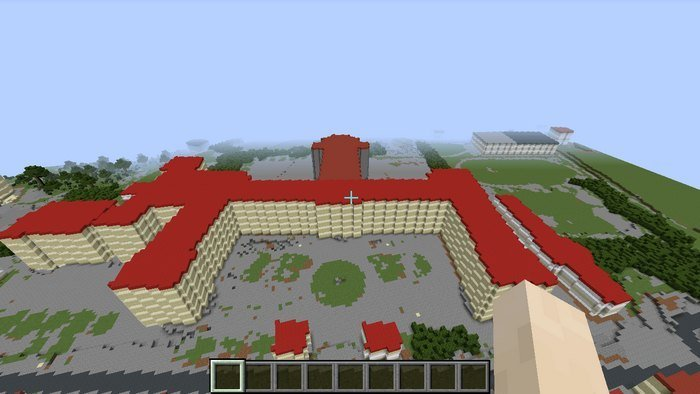 Exemple de map avec Minecraft