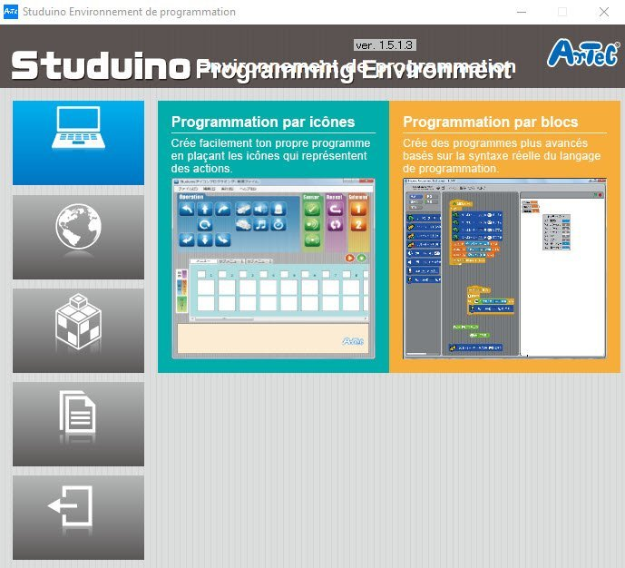 studuino-artec-programing-window