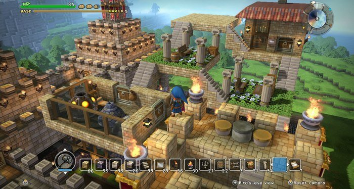 switch dragon quest builders gameplay