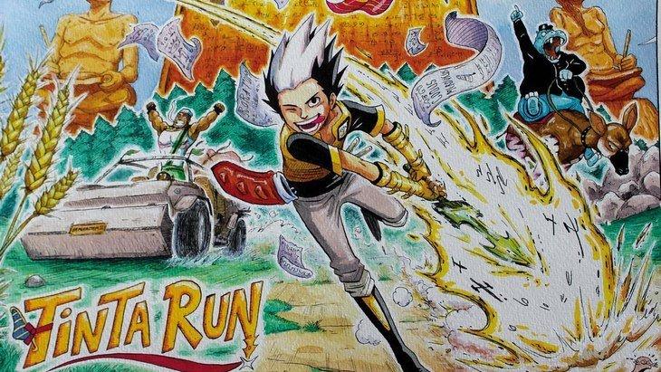 On a lu Tinta Run, le manga du français Christophe Cointault