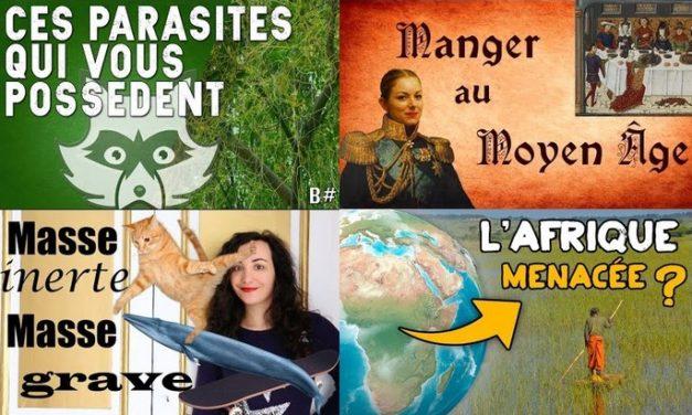 Apprendre avec YouTube #69 : Nota Bene, Biosfear, Poisson Fécond, AstronoGeek…
