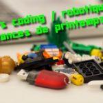 Code, robotique, jeu vidéo : quels ateliers créatifs pour les vacances de Printemps ?