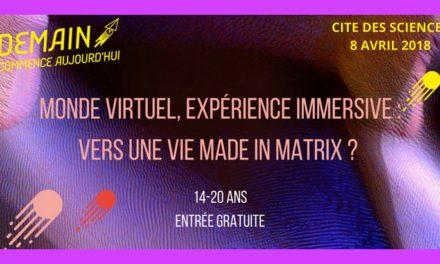 Monde virtuel, expérience immersive : une journée thématique à la Cité des Sciences