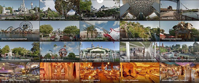 disney park google maps