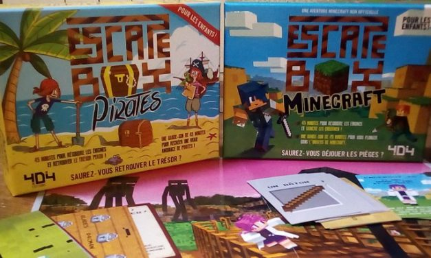 Escape Box Minecraft et Pirates : deux Escape Games pour les enfants !