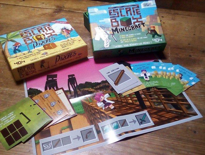 escape box pirates minecraft