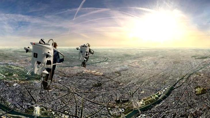 Avec FlyView, vole au-dessus de Paris en réalité virtuelle