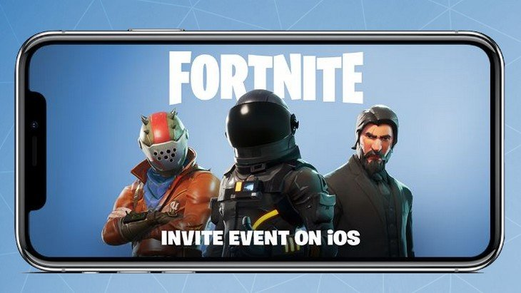 Fortnite débarque en version mobile !