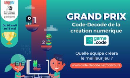 Crée le meilleur jeu vidéo et gagne le concours Code-Décode