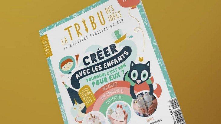 La tribu des idées : un magazine DIY pour créer en famille
