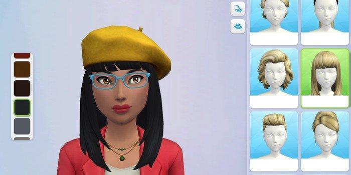 LEs Sims Mobile personnalisation de l'avatar