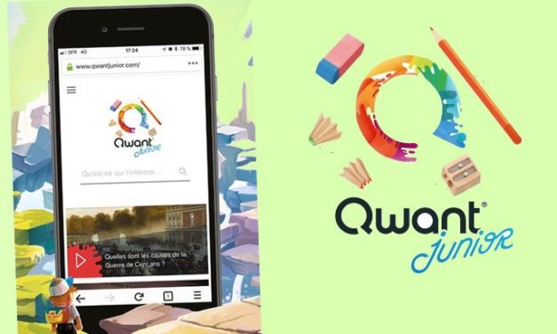 Qwant Junior sort son application mobile (iPhone – iPad – Android) !