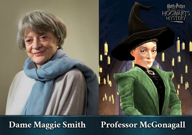 Maggie Smith McGonagall