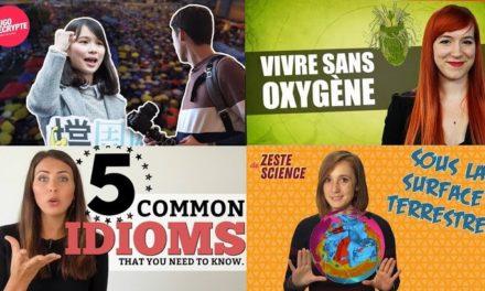 Apprendre avec YouTube #75 : Dimension, Hugo Décrypte, Nota Bene, Biosfear…