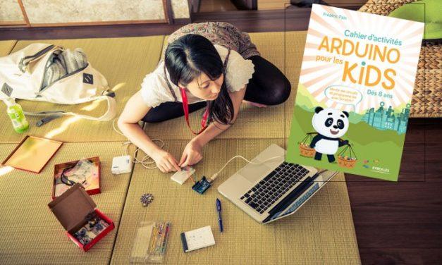 L'électronique facile avec le Cahier d'activités Arduino pour les kids