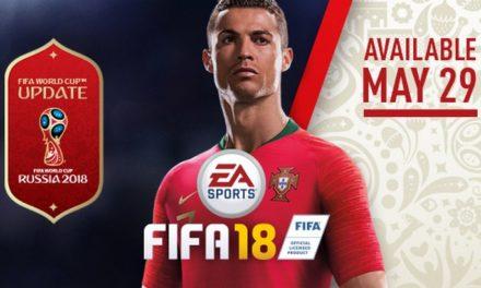 FIFA 18 ajoute une mise à jour 2018 FIFA World Cup Russia (et elle est gratuite)