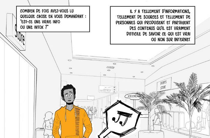 fred se mefie fausses infos