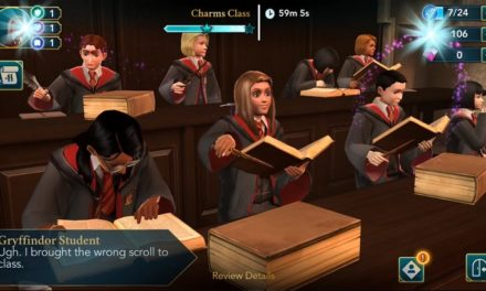 Le jeu mobile Harry Potter: Hogwarts Mystery dispo sur l'App Store et Google Play