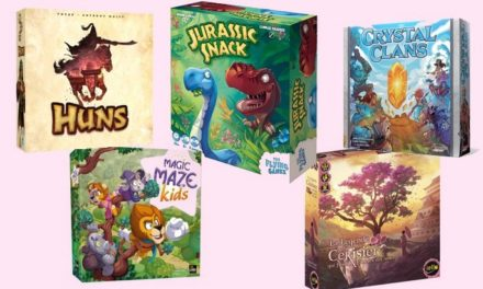 5 nouveaux jeux de société #2 : Jurassic Snack, Huns, Magic Maze Kids…