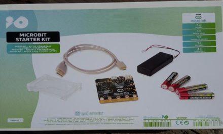 Unboxing du kit de démarrage Micro:Bit !