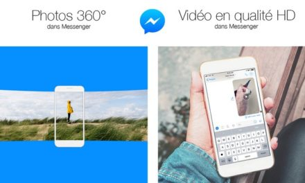 Facebook Messenger permet le partage de photos 360° et de vidéos HD
