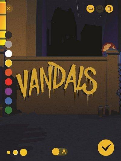 vandals outils création de graffitis