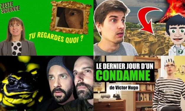 Apprendre avec YouTube #79 : Miss Book, Toopet, Le Grand JD, Doc Seven…