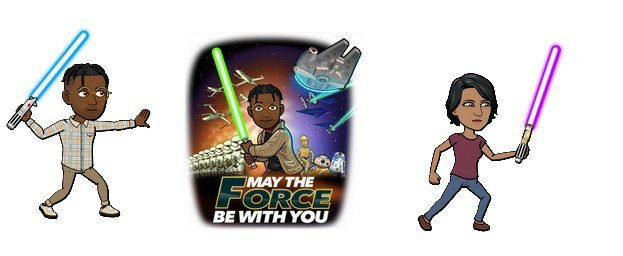 bitmoji snapchat star wars day