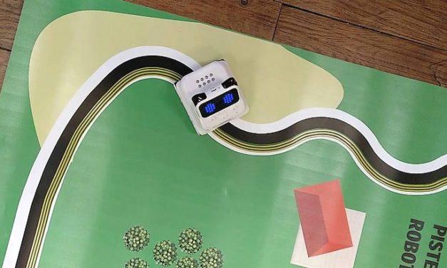Test du robot Codey Rocky et de son mode suiveur de ligne(s)