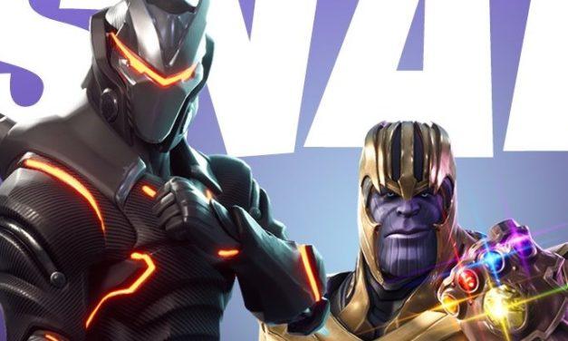Thanos s'invite dans Fortnite Battle Royale à partir du 8 mai !