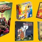 5 nouveaux jeux de société #3 : Micropolis, Princess Legend, Speed Colors…