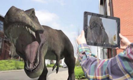 Jurassic World – Fallen Kingdom : le livre de Réalité Augmentée