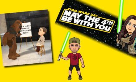 Snapchat fête le Star Wars Day avec des filtres spéciaux