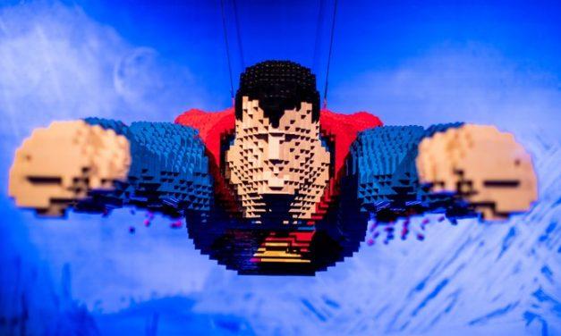 The Art of Brick : l'exposition LEGO des Super-Héros DC à voir à Paris La Villette