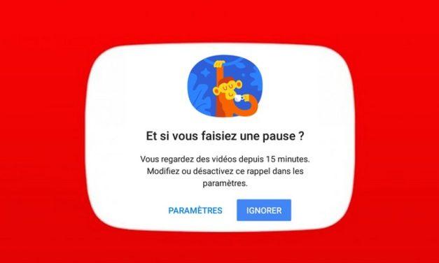 Et si tu faisais une pause sur YouTube ? Une fonctionnalité de rappel est là pour ça