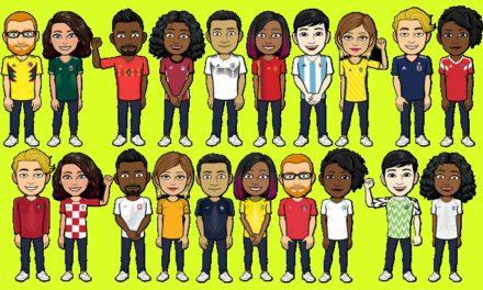 Mondial-2018 : Bitmoji (et Snapchat) laisse ton avatar porter le maillot de ton équipe !