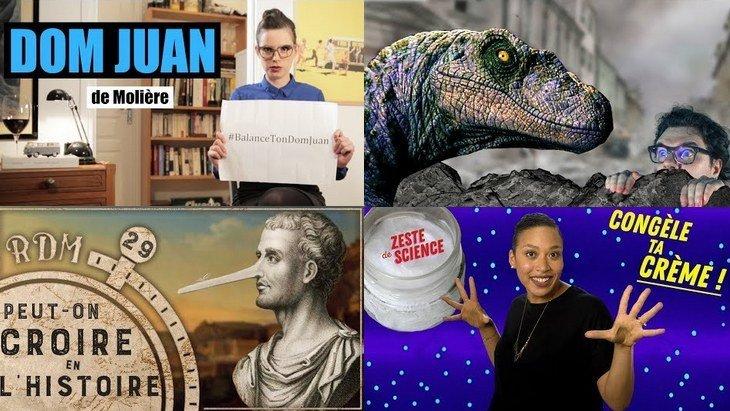 Apprendre avec YouTube #82 : Miss Book, Le Tatou, Les revues du monde…
