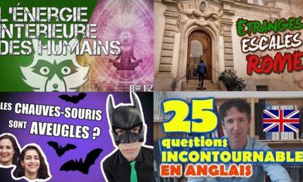 Apprendre avec YouTube #83 :  Max Bird, Axolot, Biosfear, Nota Bene…