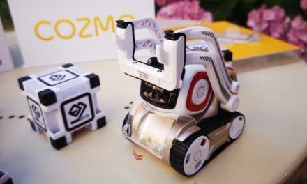 Cozmo, le petit robot programmable : présentation et unboxing !