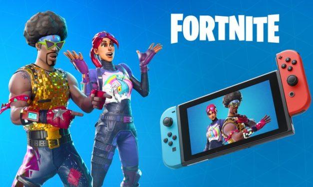 Fortnite Battle Royale enfin dispo sur Nintendo Switch !