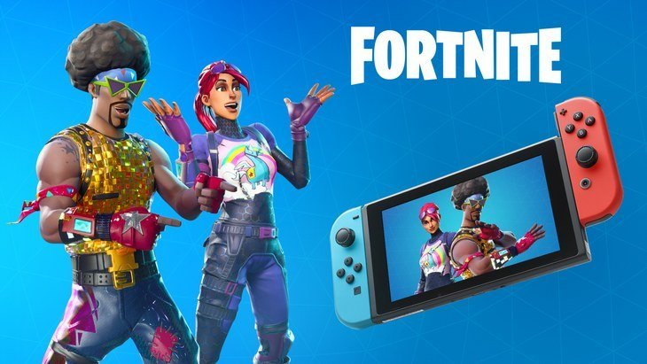 Fortnite Battle Royale enfin dispo sur Nintendo Switch !