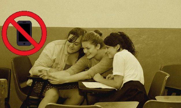 Les téléphones portables dans les écoles et collèges, c'est fini !