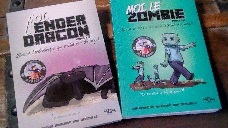Moi, le Zombie et Moi, l'enderdragon : deux nouvelles aventures Minecraft !