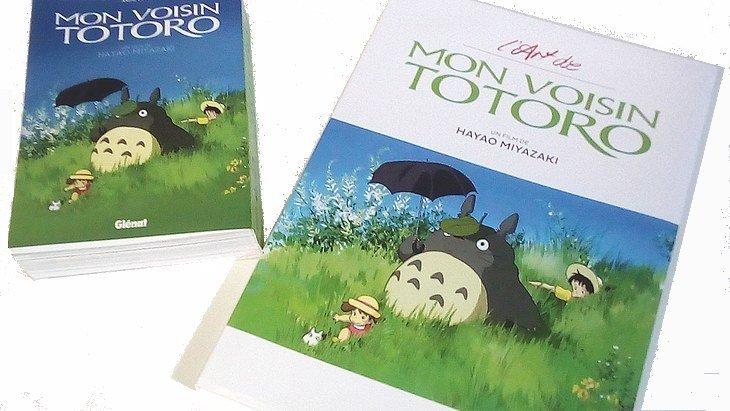 Mon voisin Totoro : un art book, un anime comics et un retour au cinéma !