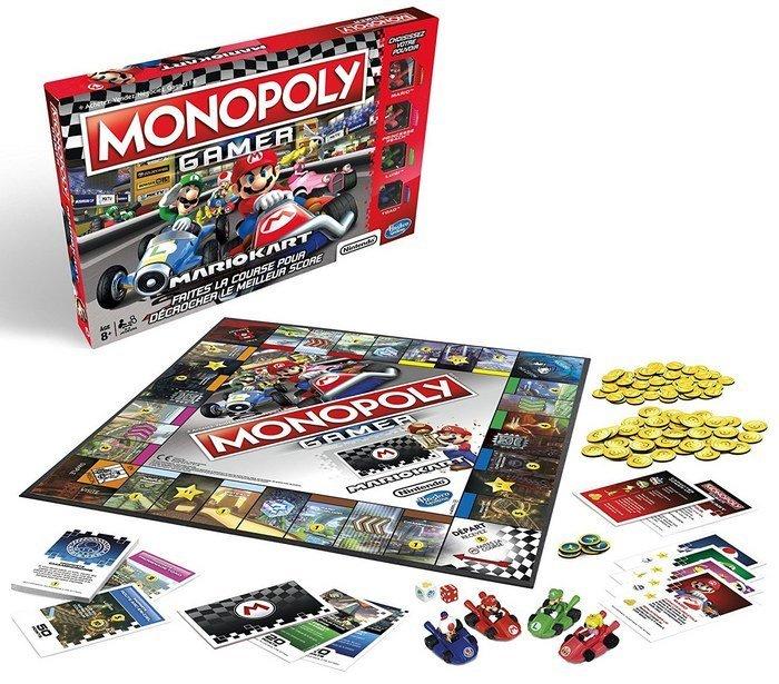monopoly gamer mario kart vient de sortir geek junior. Black Bedroom Furniture Sets. Home Design Ideas