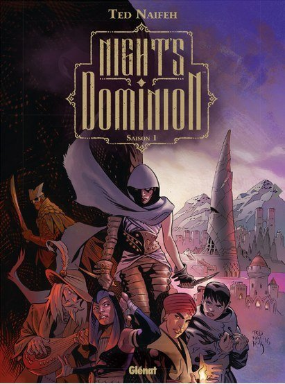 nights dominions tome-1 couverture