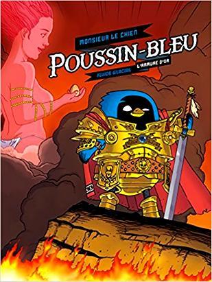 poussin bleu 1