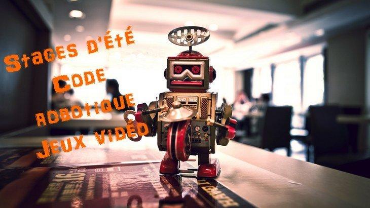 Code, robotique, jeu vidéo : quels ateliers créatifs pour les vacances d'été ?